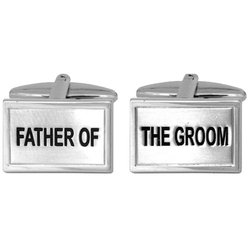 Manchetknapper - Father of the Groom (1)